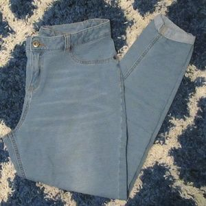 Faded Glory Ultimate Soft Skinny Ankle Jeans Size